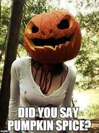 Pumpkin Spice Meme - pumpkin spice meme 009 did you say pumpkin spice pumpkin spice
