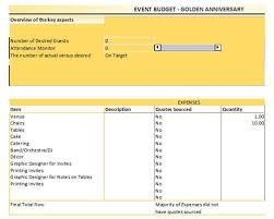 Event Budget Template Excel Free Event Budget Template For Excel Template99