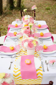 Bridal Shower Centerpiece Ideas by Easy Pink And Yellow Bridal Shower Ideas You Can Recreate U2014 Event 29