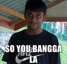 Malay Meme - damn it