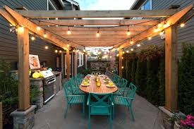 commercial outdoor string lights led solar white 20946 gallery