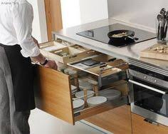 Kitchen Drawers Instead Of Cabinets Since Mrs Maiju Gebhard Launched Her Idea In 1945 Of The Drying