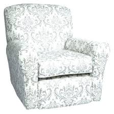 leather glider rocker chair with ottoman swivel glider rocker