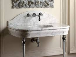 carrara marble console sink enthralling marble console sink of legs only home decoration club