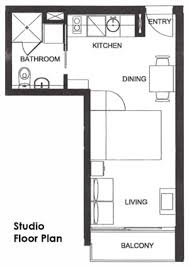 What Is A Studio Apartment Studio Floorplan Bed Is A Pull Down Murphy Bed Opening Up The