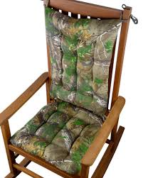 Rocking Chair With Cushions Realtree Xtra Green R Camo Rocking Chair Cushions Latex Foam