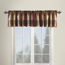 Curtains And Valances United Curtain Plaid Valance 54 By 18 Inch