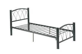 interior metal twin bed frame headboard big lots instructions