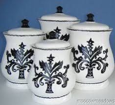 black kitchen canister sets black white canister set by speeglecreations on etsy kitchen