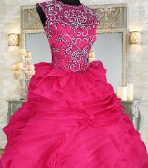 http www gownforent com fuschia pink ball gown for rent in
