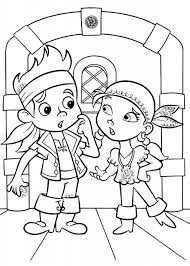 get this jake and the neverland pirates coloring pages printable