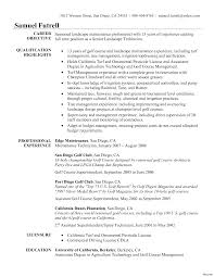 resume objective exle landscaping resume for exles landscape architect cover letter