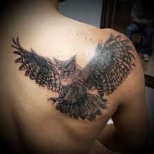 44 alluring shoulder blade tattoos to flaunt with off shoulder