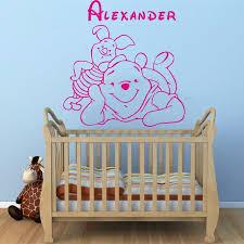 décoration winnie l ourson chambre de bébé winnie l ourson bébé stickers muraux décoration de maison