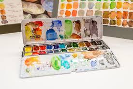 the wet paint limited edition schmincke horadam watercolor half