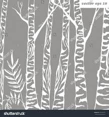 birch tree wrapping paper birch tree background vector illustration element stock vector