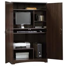 Sauder Beginnings Corner Computer Desk by Sauder Computer Cabinet Armoire Best Home Furniture Decoration