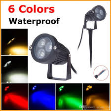 2017 9w led garden lawn l light 12v ip68 waterproof outdoor