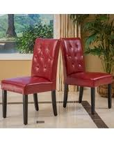 Red Leather Dining Chair Alert Red Leather Dining Chairs Deals