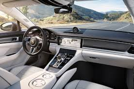 porsche electric interior 2016 porsche panamera revealed autocar