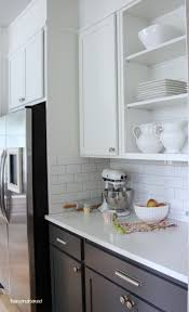 are white or kitchen cabinets more popular kitchen cabinet colors before after the inspired room