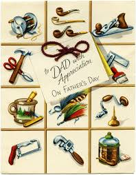 father u0027s day free vintage illustrations