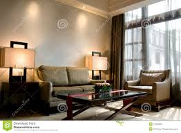 living room of a luxury 5 star hotel suite stock photos image