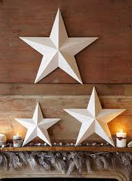 Rustic Metal Christmas Decorations by Top 40 Christmas Star Decorations Ideas Scandinavian Christmas