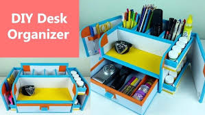 School Desk Organization Ideas Diy Desk Organizer Desk Organizer Tray Diy Desk Organization Ideas