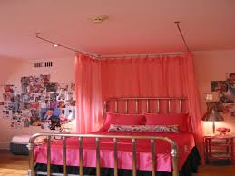 Canopy Bed Curtains Ikea by Ikea Canopy Bed Drapes With Hang The Curtains On The Steel Cables
