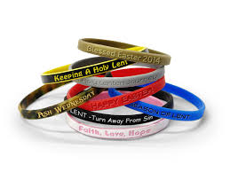 design silicone bracelet images How to design silicone wristbands for lenten season png