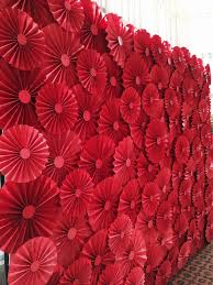 paper fan backdrop paper flower backdrop paper fan for the wedding singapore