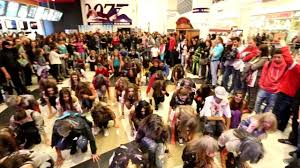 crazy halloween flash mob 2012 sg events bulgaria mall of sofia