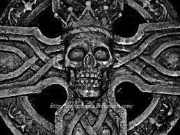 skull cross 1 by gothicmama on deviantart