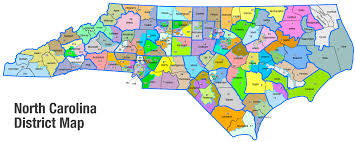 carolina school district map equal education in cms