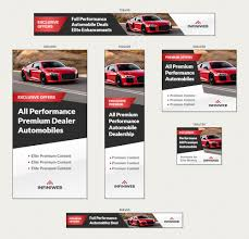 car ads sports car modern banner ads html5 gwd template by infiniweb