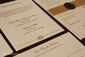 Letterpress Invitations Luxe Letterpress Invitation Zenadia Design