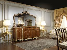 the classic cupboard dining room in louis xv style vimercati