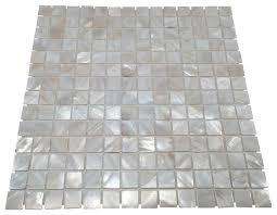 of pearl sea shell tile white 11 x11