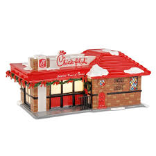 chickfila halloween amazon com the original snow village from department 56 fil