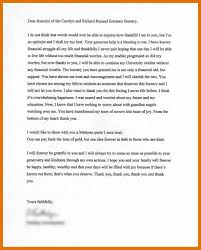 quote generosity kindness thank you letter generosity choice image letter format examples
