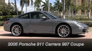 porsche carrera 2005 2005 porsche 911 carrera 997 seal grey metallic gulfstream