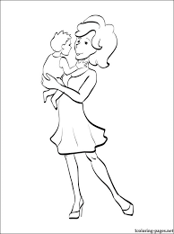 mother coloring pages printable mother u0027s day coloring page for toddlers coloring pages