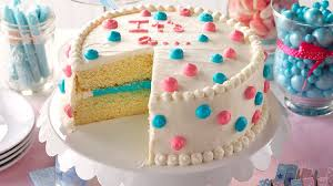 How To Make Cake Decorations Learn How To Make A Gender Reveal Cake Taste Of Home