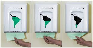ambient advert by paper dispenser ads of the world