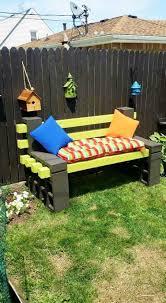 amazing cinder block furniture backyard condointeriordesign com