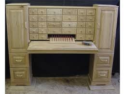 you could hide so much stuff in these drawers office