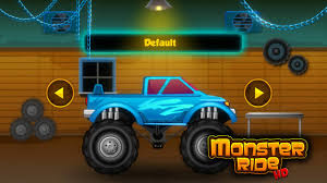 play online monster truck racing games monster ride hd free games android apps on google play