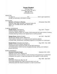 examples of resumes resume templates no job experience with