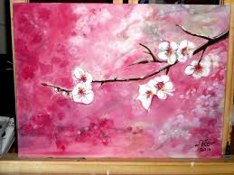 timelapse acrylic painting cherry blossoms how to paint youtube